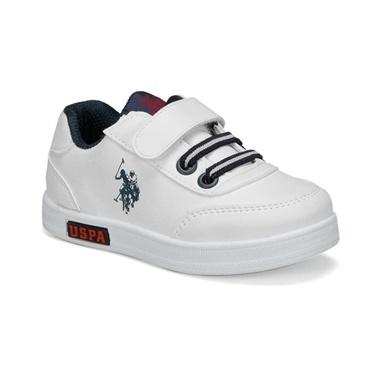 U.S. Polo Assn. Çocuk Ayakkabı Cameron 100429344 Beyaz